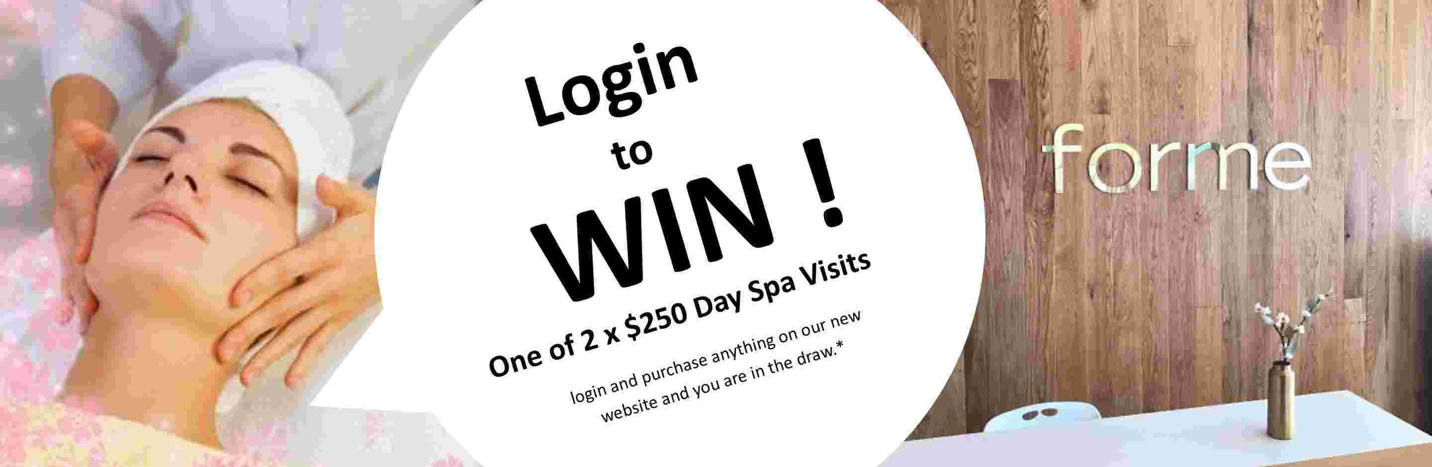 Launch Promo win Forme Spa