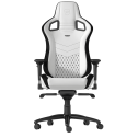 Phenomenal Gaming Chair Epic Noblechairs White Black Pu Leather With Adjustable Arms Inzonedesignstudio Interior Chair Design Inzonedesignstudiocom