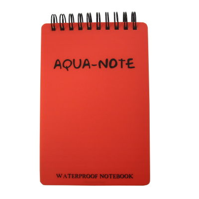 122703_Notebook Aqua Note GBP Orange Waterproof 150mm x 100mm 50 Leaf.png
