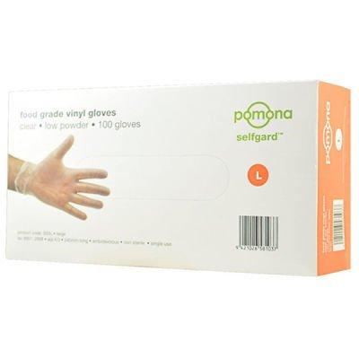 Disposable Gloves 3023 Selfgard Vinyl Powder Free Food Grade